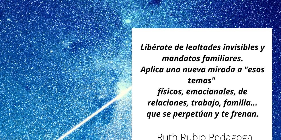 Taller Constelaciones Familiares con Ruth Rubio. COSLADA.