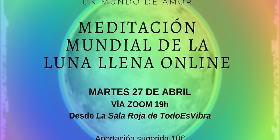 Meditación Mundial de La Luna LLena® ONLINE