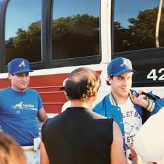 Coach Calicone and Steve Gyimesi