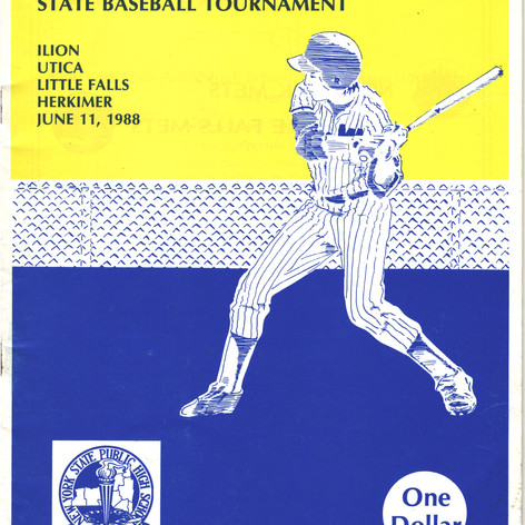 1988 championship brochure cover.