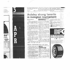 1986 Irvington Tournament preview article