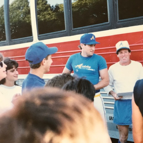 Coach Fitzpatrick with Coach Calicone in 1989