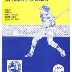 1989 championship brochure cover.