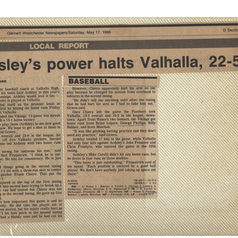 Victory number 16 over Valhalla.