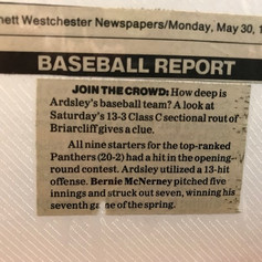 The Reporter's Dispatch Baseball report