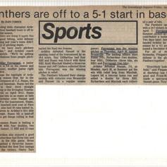 Greenburgh Inquirer article after 5-1 start.