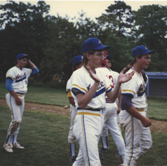 James Meinel after the Reginal championship game vs. Center Moriches