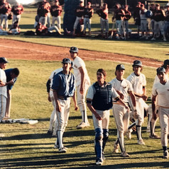 On field celebration after final out in 1987.