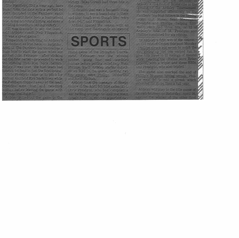Greenburgh Inquirer article