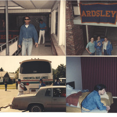 Pictures from the 1987 trip to Little Falls.