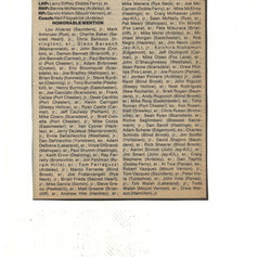 Continuation of 1989 All-County team article