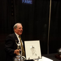 Coach being inducted into The Westchester County Sports Hall of Fame