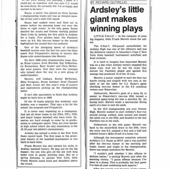 Newspaper clipping from June 8, 1987