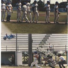 State finals game pictures vs. Northern Adirondack.  Tom Ferraguzzi at bat.