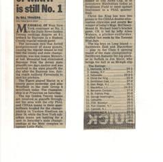 NY Daily News Golden 20 rankings
