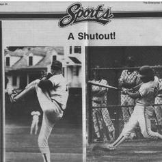 The Enterprise after beating Mattituck in Regional Finals.  June 10, 1988