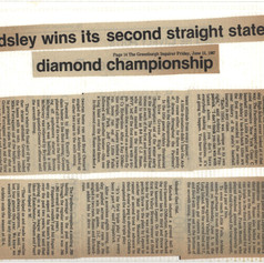 Greenburgh Inquirer article after the 2nd state championship.
