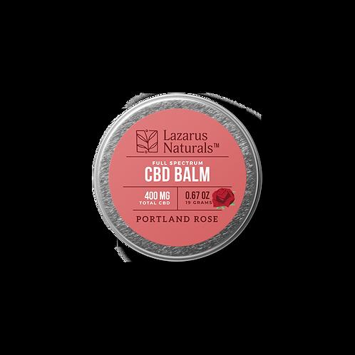 Lazarus Naturals Full Spectrum CBD Balm - 400 mg - Portland Rose