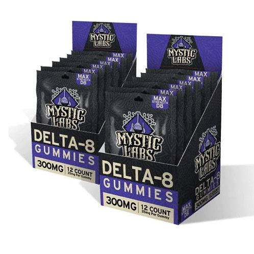 Mystic Labs Delta 8 Gummies (300 mg)