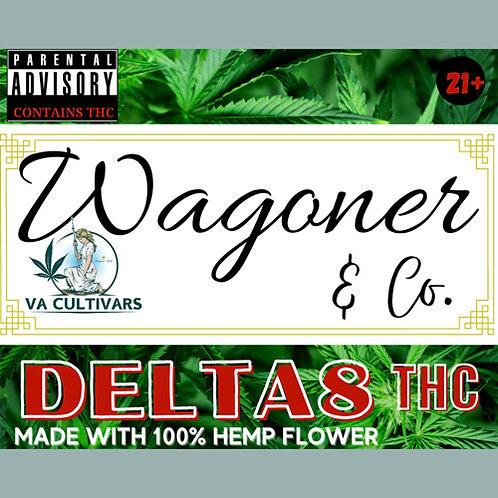 Wagoner Delta-8 Vape Cart (1 ml), Cannaloupe Haze (Hybrid)