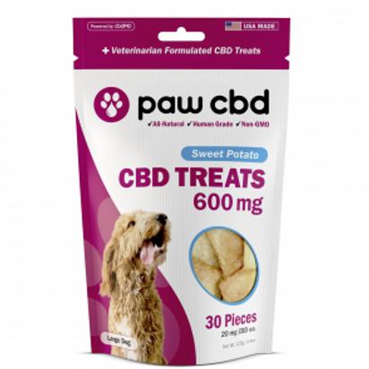 Paw CBD Pet Treats - 600 mg - Sweet Potato