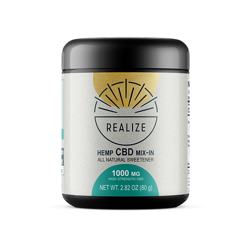Realize Hemp CBD Sweetner 1000 mg