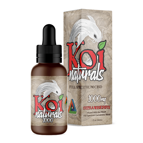 Koi Naturals 1000mg Tincture Strawberry