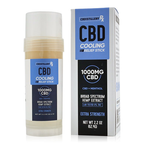 CBDistillery RX Cooling Relief Stick - 1,000 mg