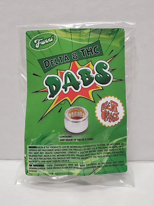 Funni Delta 8 THC Dab (1 gram), Agent Orange