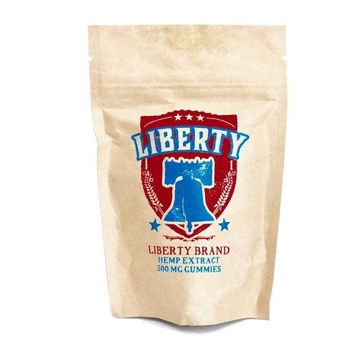 Liberty Gummies 500 mg bag