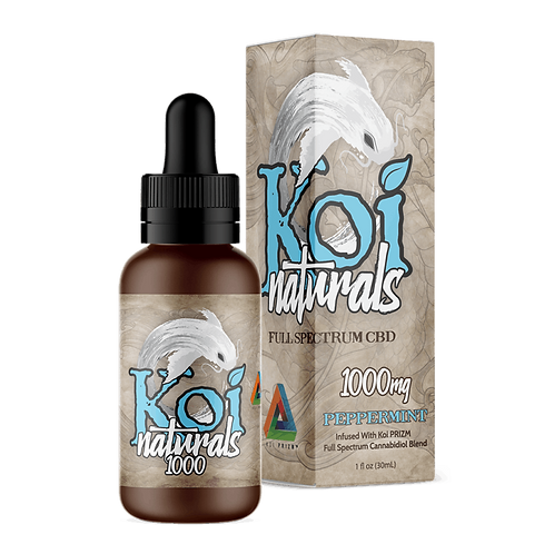 Koi Naturals 1000mg Tincture Peppermint
