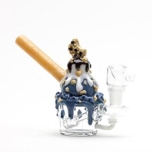 Empire Glassworks Nano Rig - Cookie Monster Sundae, water pipe