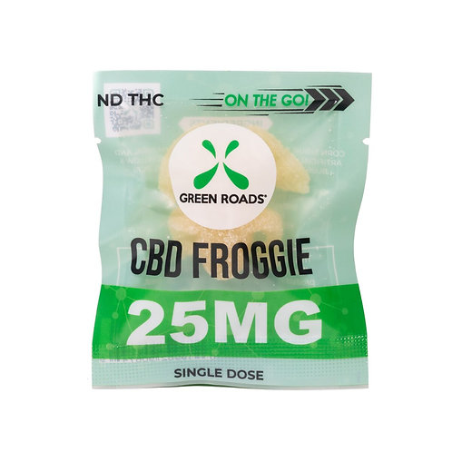 Green Roads CBD Froggie On The Go 25mg