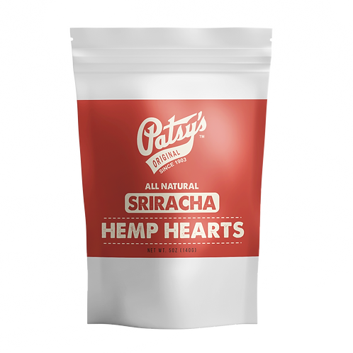 Patsys Hemp Hearts (Hemp Seeds) - Sriracha