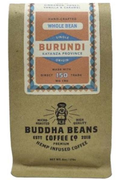 Buddha Beans Whole Bean CBD Coffee 6 oz, Burundi