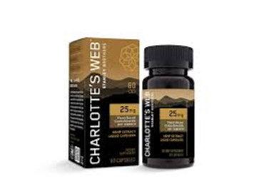 Charlotte's Web Liquid Capsules - 60ct (1500 mg)