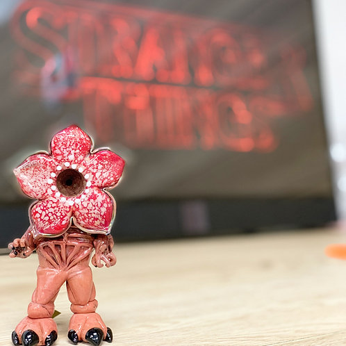 Empire Glassworks - Dry Pipe - Stranger Things Monster (Demogorgon)