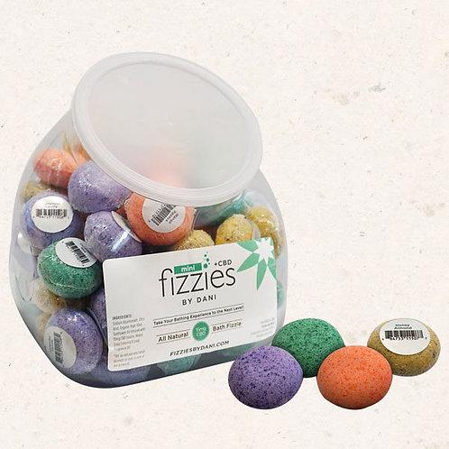 Mini Fizzies 15mg Bath Bombs - Mango Papaya