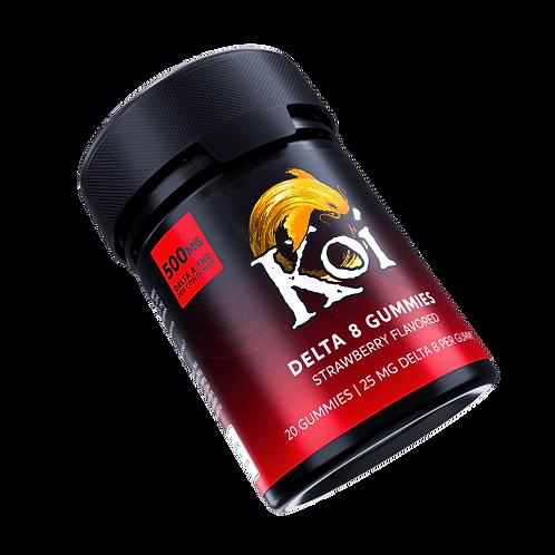 Koi Delta-8 Gummies (500 mg), Strawberry