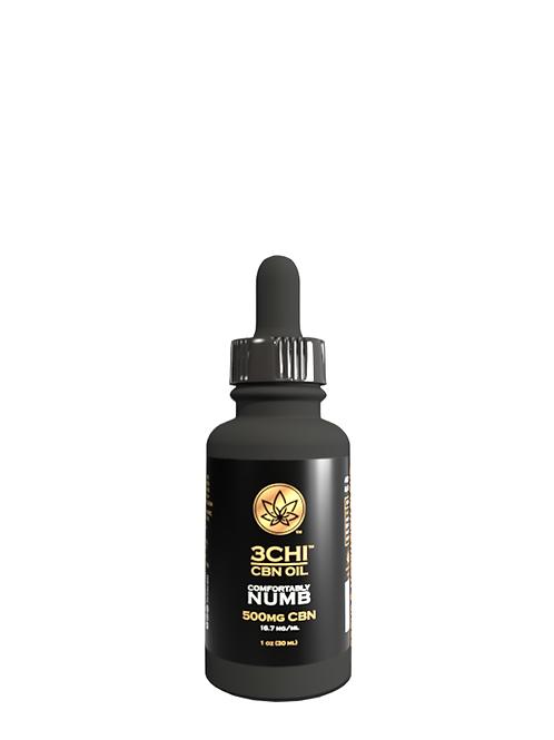 3Chi Comfortably Numb Tincture (CBN, CBC, Delta-8), 600 mg