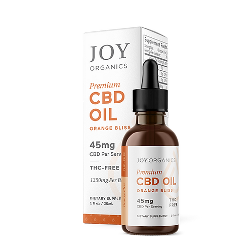 Joy Organics Orange Bliss Tincture - 1350 mg