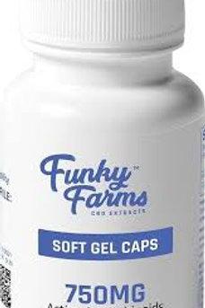 Funky Farms CBD Gel Caps 750mg