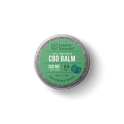 Lazarus Naturals .5oz Balm 300mg - Soothing Mint