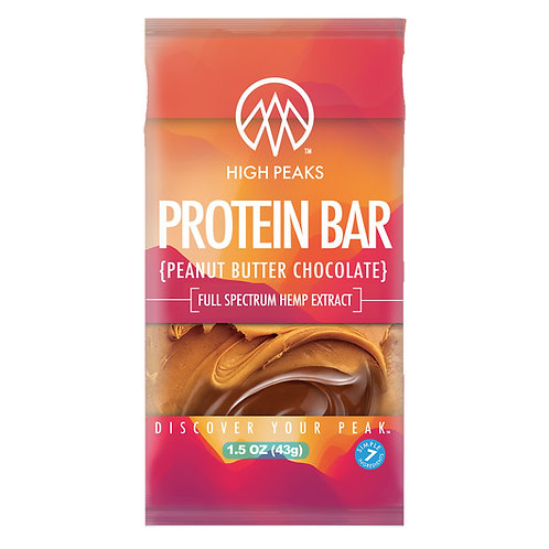 High Peaks Protein Bar - Peanut Butter Chocolate