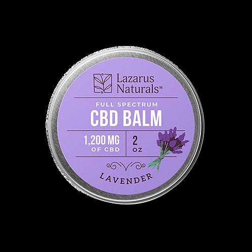 Lazarus Naturals 2oz Balm 1,200 mg - Lavender