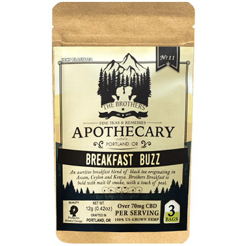 Apothecary Tea, Breakfast Buzz