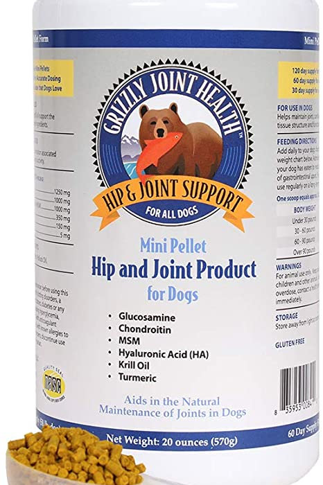 Grizzly Hemp Hip and Joint Pellets