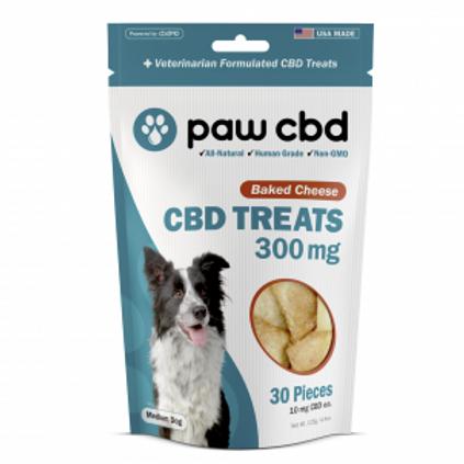 Paw CBD Pet Treats - 300 mg - Baked Cheese