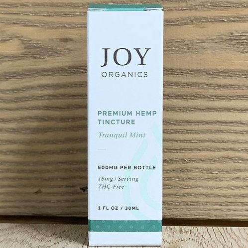 Joy Organics Tranquil Mint Tincture - 1oz 500mg
