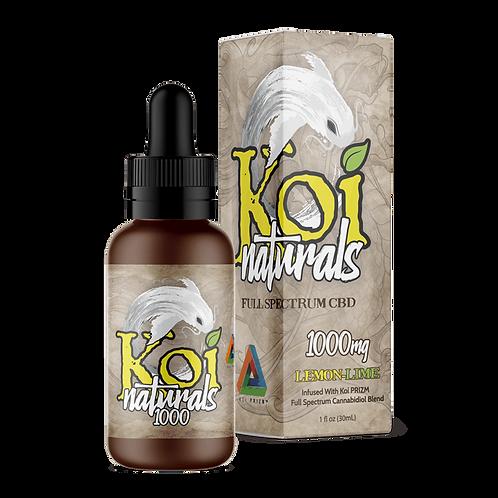 Koi Naturals 1000mg Tincture Lemon-Lime
